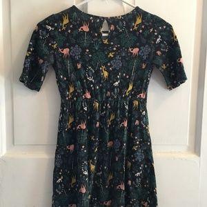 "Old Navy Dresses - GIRLS Old Navy ""Animals & Foliage"" Dress SIZE M"